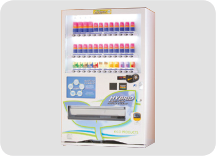 Can and PET bottle vending machines