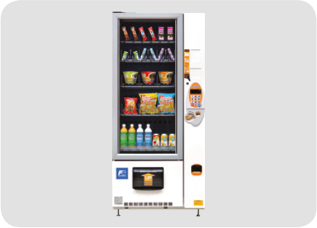Vending machines for food and other goods (models for China and other Asian markets)